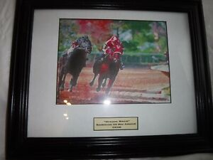 Horse Racing Pictures  Seabiscuit   Two Giclee Canvas Prints