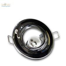 10 x GU10 Faretto da incasso Cornice per cromo lucido 230V Lampada orientabile