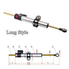 CNC Motorcycle Steering Damper Stabilizer For Honda Yamaha Suzuki Kawasaki BMW
