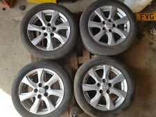 "2010 MAZDA 3 TS2 6.5J 16"" ALLOY WHEELS 9965876560"