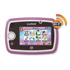 NEW LeapFrog LeapPad 3 Learning Tablet (Pink) +WARRANTY for girls/children