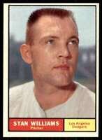1961 Topps Set Break Nm Stan Williams Los Angeles Dodgers #190