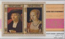Aden - Kathiri Toestand Block21A (compleet Editie) postfris MNH 1968 Schilderije