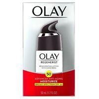 Olay Regenerist Regenerating Face Lotion, SPF 50, 1.7 fl oz ADVANCE ANTI AGING