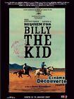 Affiche 40x60cm REQUIEM FOR BILLY THE KID 2006 Kris Kristofferson, Arthur H NEUV