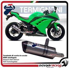 Termignoni RELEVANCE Pot D'Echappement carbone racing Kawasaki NINJA 300R 12>15