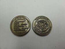 CHALLENGE COIN 244TH QUARTERMASTER BN G FORCE ARMY VALUES CORE WARRIOR SPIRIT