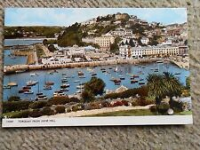POSTCARD. TORQUAY FROM VANE HILL..POSTED TO BLACKPOOL.1963