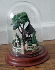 FRANKLIN MINT~ Princes's Victorian Garden by  Barry Shiraishi 1988 In Glass Dome