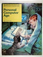 Rare Vintage Magazine Personal Computer Age Vol 1.9 Dec 1982 IBM PC