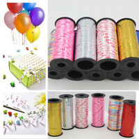 100 Yards Balloons String Tie Curling Ribbons Balloon Ribon Roll Gift Wrapping
