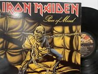 Iron Maiden – Piece Of Mind LP 1983 Capitol Records – ST-12274 NWOBHM VG/VG