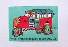NICKY THOMAS - Modern transport. Handsigniertes und -koloriertes Stencil (2014)