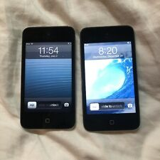 (2) Apple iPod Touch 4th Generation 8GB - Black