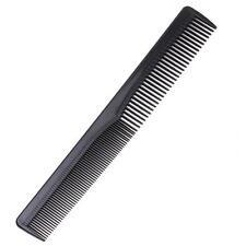 Unisex Salon Plastic Cutting Hair Tooth Comb Barber Hairdressing Pocket Black B