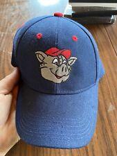 Lehigh Valley Ironpigs (AAA Phillies) Adult Blue Ferrous Logo Cap - New