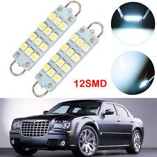 2Pcs Rigid Loop LED Side Front Door Light Bulbs For Chrysler 300/300C 2005-2013