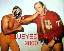 MIL MASCARAS & DORY FUNK JR  WRESTLER 8 X 10 WRESTLING PHOTO NWA WWF