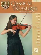 CLASSICAL TREASURES VIOLIN PLAY-ALONG - VIOLIN BOOK/CD 842647