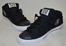 Converse Boy's CT Axel Mid Top Black/White Sneaker - Assorted Sizes NWB 642849F