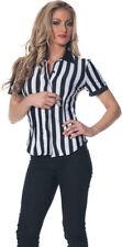 Morris Costumes Women's Referee Fitted Shirt Medium. UR28315MD