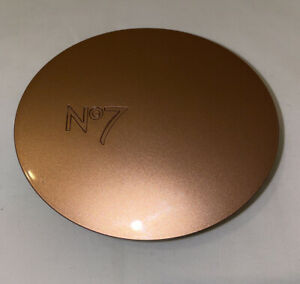 No7 Perfectly Bronzed Dual Bronzer Pressed Powder Compact 1x10g NEW