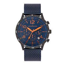 Adelsberger Fliegerzeit Chronograph Herren Stahl Armbanduhren Made in Germany