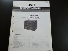 Original Service Manual JVC  DR-E7BK DR-E7LBK