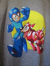 Lootpets Lootcrate MegaMan T-Shirt  and Matching Pet T-Shirt Size Med /Grey