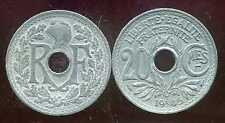20 centimes  ZINC LINDAUER   1945  TB+  ( bis )