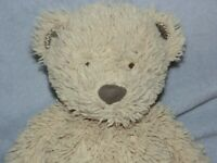 MOTHERCARE BROWN BEAR SOFT TOY TEDDY COMFORTER DOUDOU