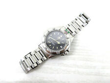 Vintage Tag Heuer 4000 Series WF1111-0 Professional Men's Watch - Extra Links