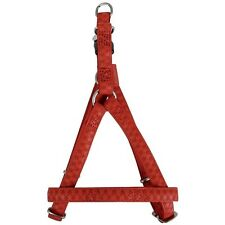 HARNAIS ROUGE MC LEATHER 20 MM TAILLE 45/50 CM ZOLUX