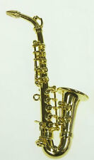 Saxophone By Heidi Ott Miniature Musical Instrument 1.12 Scale Dolls House Music