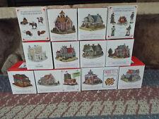 Liberty Falls Collectible Set 12pcs, Americana Collection,Frontier Town Colorado