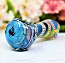 "4"" EXTRA HARD GLASS COLLECTIBLE TOBACCO SMOKING HERB BOWL HAND PIPES"