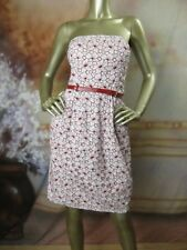 EUC JEAN PAUL GAULTIER For Target Red White Eyelet Dress Size 13