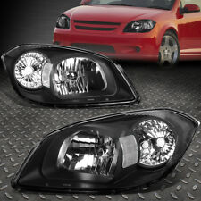 FOR 05-10 CHEVY COBALT/G5 BLACK HOUSING HEADLIGHT+CLEAR LENS SIDE CORNER LIGHT
