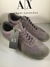 New ARMANI EXCHANGE AX Mens Shoes (Grey) 10 100% Authentic