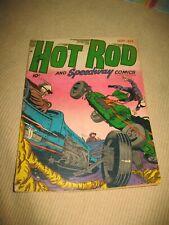 Hot Rod & Speedway #2 ~ Hillman Golden Age 1952 ~Good~Rare