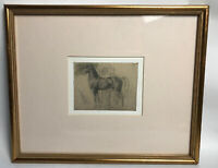 Print Of A Horse Mounted And Framed
