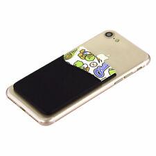 Porte-carte adhésif smartphone pour Nokia 700 noir Etui Housse Pochette