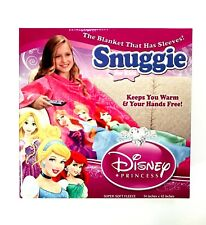 1X KIDS Disney Princess Snuggie Blanket With Sleeves Soft Fleece Limited Edition