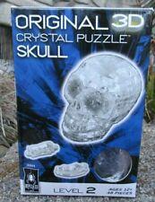 Original 3D Crystal Puzzle SKULL-Bepuzzled-Level 2-48 Pcs-New