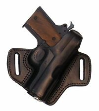 "Kimber Ultra Carry 3"" Barrel Holster Locked & Cocked Black Leather Right"