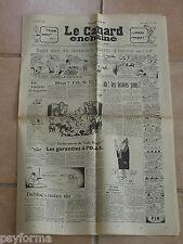 Le Canard Enchainé N° 2158 du 28 fevrier 1962 - Journal anniversaire 28 02 62