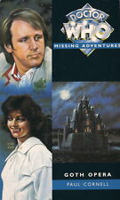 Dr Doctor Who Missing Adventures Book - GOTH OPERA - (Mint New)