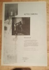 Aztec camera Dreamland  1993 press advert Full page 27 x 38 cm mini poster