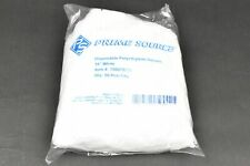 """50 CT Prime Source 18"""" WHIT, 8 Mil. -Disposable Vinyl Processing Sleeves"""