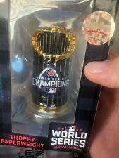 Chicago Cubs 2016 World Series Champions Trophy Paperweight!